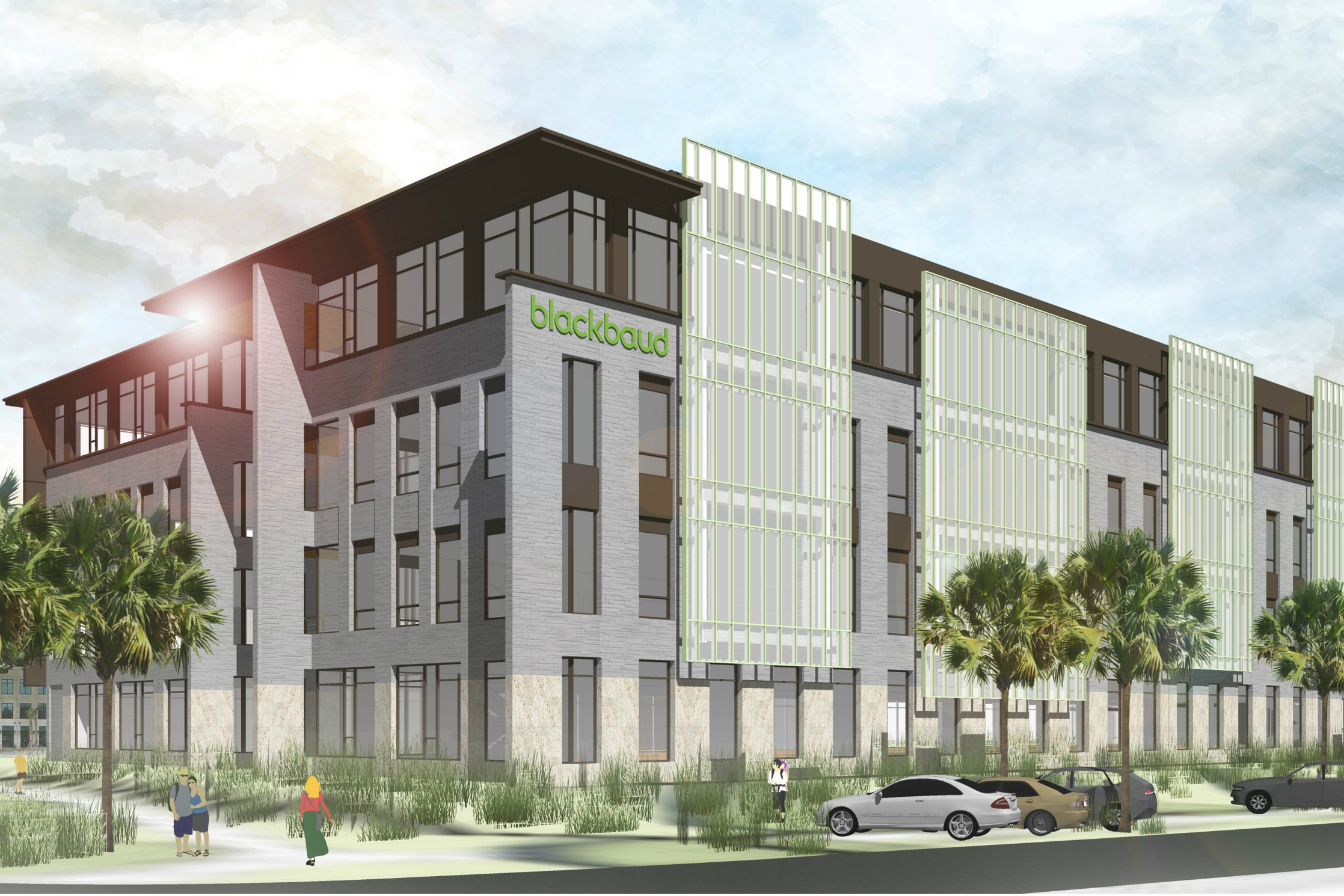 Blackbaud Stays Put, Launches S.C. Headquarters Project